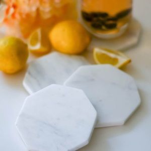 NEW Zeal Living Marble Coasters